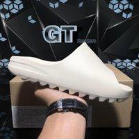 Pantofole di alta qualità Graffiti Bone Resin Desert Desert Gomma Sandy Estate Brown Brown Uomo Donne Donne Slides Spiaggia Sandali in schiuma da spiaggia Sandali con scatola GT Sneakers Taglia 36-45