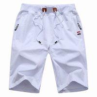 Шорты спортивные мужчины сплошные мужские летние мужские пляжные хлопчатобумажные повседневные мужские спорт Homme бренд одежды