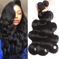 Peruvian Body Wave Bundles 100% Remy Human Hair Extensions Natural Color 100G Machine Double Weft 3 Or 4 Bundle Deals