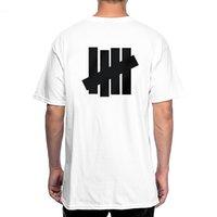 Giapponese Tide 19SS Non imbattuto in logo di base T-shirt uomo e donna Le coppie 100% cotone casual semplicissimo maglietta a manica corta