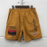 5 cores malha shorts homens mulheres de alta qualidade breakcloth cordão respirável