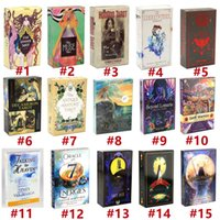 Карты Tarot Del Fuego E-Guidebook Игра Linssider Dreams Toy Dagining Star Spinner Muse Hoodoo Ockult Ride