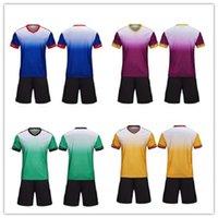 Hommes Kit Custom Soccer Jerseys Adultes Kits personnels Diy Nom Numéro Numéro Logo Forteam Uniformes Chemises de football Jeunesse 15