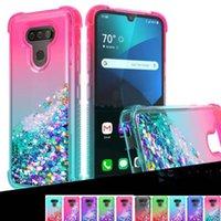 For LG Stylo 6 K51 quicksand cases glitter liquid TPU cover Motorola Moto G stylus covers Apple Iphone 13 pro max 12mini case Samsung A21 A01