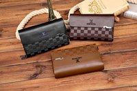 أحدث الرجال الكلاسيكية سفر سفر محفظة أزياء جلدية طويلة محفظة moneybag سستة الحقيبة عملة جيب ملاحظة مقصورة رجل مخلب