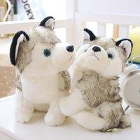Gefüllte Tiere Puppen Kinder Spielzeug Husky Hund Plüsch Puppe Spielzeug Geschenke Kinder Weihnachtsgeschenk