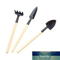 3 unids / set Herramientas de plantación Flores interiores Mini Spade Shovel Harrow Mantenimiento Jardinería Herramientas de mano Kit de planta YH-461295