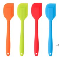 Küchen-Silikon-Creme-Spatel-Werkzeuge Mischen Teigschaber Pinsel Butter-Mixer-Schaber Durable Backkuchen Spatulas-Werkzeug EWF8597