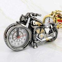 Часы творческая спальня украшения электронные часы кабинет гостиная мода украшений мотоцикл модель пластиковый будильник
