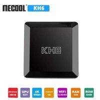 Mecool KH6 Android 10 TV Box 4GB RAM 32GB ROM Allwinner H616 2.4G 5G WiFi 4K HD Bluetooth Smart Set top Box vs X96 MAX