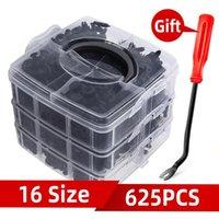 Other Vehicle Tools 16 Size 625Pcs Auto Fastener Clip Mixed Car Body Push Retainer Pin Rivet Bumper Door Trim Panel Kit