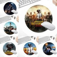 Mouse Pads & Wrist Rests Pubg Game Fire Cool Large Pad PC Computer Mat Office Work Round XL Non-slip Laptop Cushion Mousepad
