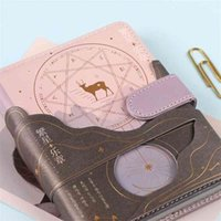 Vintage Moda Eles Mystery World Diary Book 196P Cool Diy Agenda Jornal Journal Gift 15 * 11cm 210611