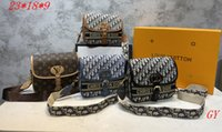 2021 Stile di qualità eccellente moda donna donne di lusso signora PU borse in pelle borse di marca borse spalla m tote bag femminile # 3918