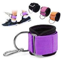 Vente en gros 2pcs Home Gym Fitness Fitness Réglable Bague D-Bague D-Bague pour câble Machine Accessoires Support