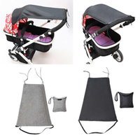 Stroller Parts & Accessories Universal Baby Sun Cover Waterproof Pram By UV Protection Sunshade Canopy For Prams Car Outdoor