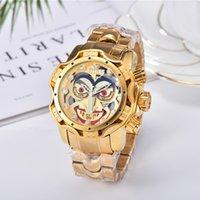 럭셔리 남성 시계 디자이너 브랜드 쿼츠 시계 남성 골드 스포츠 군사 손목 시계 50mm 대형 다이얼 스테인레스 스틸 손목 시계 Reloj de Lujo