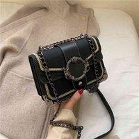 High Quality Chain Crossbody s for Women Fashion Small Shoulder Luxury Ladies Handbag Designer Flap Messenger Bag 45z