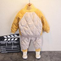 Clothing Sets Baby Girl Winter Clothes Thicken Warm Turtleneck Sweatshirt Pants Two Pieces Borns Casual Suit Cold Proof Infant Boy Costumes