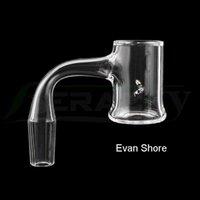 Beracky Evan Shore Seamless Smoking Quartz Banger With 2pcs Spinning  Tourbillon Holes 25mmOD Beveled Edge Fully Welded Nails For Glass Water Bongs Dab Rigs