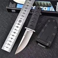 """Nouveau 2021 Couteau de démarrage en acier froide 17T 17T KOBUN II Fixe Blade Fixe 3.25 """"Kray-EX Poignée Secure-EX Gaine Camping en plein air Couteaux de chasse Couteaux de survie EDC BM42 Outils"""