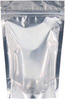 Bolsa de embalagem de plástico de folha de alumínio com entalhe de lágrima para armazenamento de alimentos, tamanho 21 * 35 + 5cm, 24 * 35 + 5cm, 26 * 40 + 6cm, 30 * 40 + 6cm