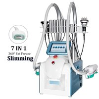 portable Cool Sculpt Cryotherapy Slimming 360 Degree fat Freezing Machine Cryolipolysis with Cavitation RF Liposuction laser lipo cryo facial machines