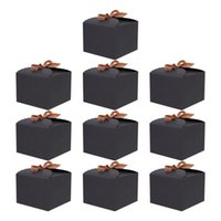 Gift Wrap 10pcs Chic Dessert Boxes Portable Cake Delicate Cupcakes