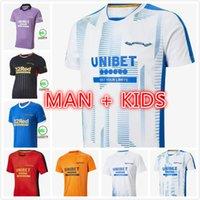 2021 Glasgow Rangers Ev Üçüncü Uzakta Şampiyonlar 55 Futbol Formaları Defoe Hagi Morelos Tavernier 20 21 Futbol Gömlek Erkekler + Çocuklar Kiti