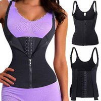 Women's Shapers Women Adjustable Zipper Body Shaping Abdomen Shaper Waist Trainer Corset Slimming Belt Shoulder