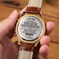 Wristwatches To My Man-Personalized Watch - Mens Gift For Men Engraving Customized Engrave