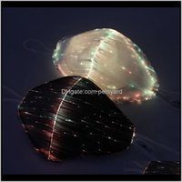 Festive Supplies Home & Gardenfashion Glowing With Pm2Dot5 Filter 7 Colors Luminous Led Face Masks For Christmas Party Festival Masquerade Ra