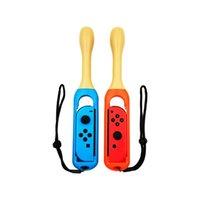 Для коммутатора Портативная игра Drumstick Handle Holder Grip с запястным ремешком Joy-Con Taiko Drum Games Контроллеры Джойстики