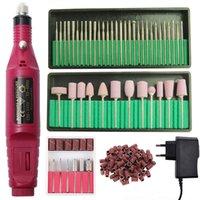 Professionelle elektrische Nagelbohrmaschine Pediküre Maniküre-Fräser Set Salon Tipps Datei 20000RPM Poliergeräte Nägel Polierer