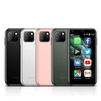 醤油XS11スーパーミニスマートフォン1GB RAM 8GB ROM 2.5インチMT6580AクワッドコアAndroid 6.0 1000mAh 2.0mp小型ポケット携帯電話