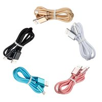 1m 2m 3m 10ft Braided Fabric Cables USB-C Type C Micro USB Charging Cable Cord For Samsung Xiaomi Huawei LG Android Cellphone