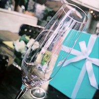 Luxurys Designers Crystal Gookblet Martini Wine Glange Романтический свечей ужин свадьбы свадьба шампанское флейты очки пивная кружка