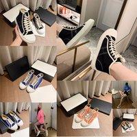 مصمم الاحذية عارضة عجلة كاسيتا فالت الأحذية أحذية رياضية متعددة الالوان قدم المرأة النسيج أحذية منخفضة أعلى وصندوق 35-40