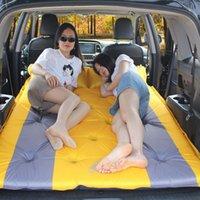 Açık Havada Pedler 3 Renk Açık Havada Kamp Öğle Yemeği Break Yatak Yapımı Araç SUV Seyahat Araba Otomatik Enflasyon Rezerv Kutusu Uyku Yatak
