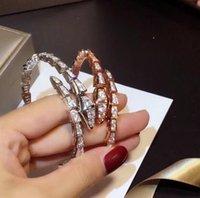 2021 Snake Armbanden Ontwerpers Luxe Vrouwen Sieraden Bangle Modemerk Armband Persoonlijkheid Senior Topkwaliteit Meisjes Geschenken