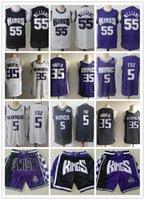 МужскойСакраментоКорогиRembeback De'aaron 5 Fox Marvin 35 GAGLEY III Джейсон 55 Williams Баскетбольные шорты Баскетбольные майки