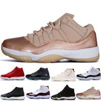 Yeni 11 Uzay Reçelleri BRED Numarası 45 En İyi Concord Basketbol Ayakkabıları Erkekler Kadınlar Ayakkabı 11s Spor Salonu Kırmızı Donanma Gama Mavi 72-10 Sneakers Tasarımcı