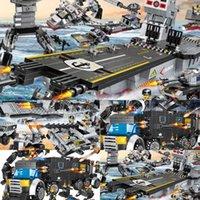 Carrier, XQ Mini Building Block Block Model Toy, Aircraft Waship, Swat Unit, Truck, 8 in una combinazione diversificata, Bambino Birthday Christmas Gift2021