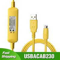 Para Delta DVP ES EX EC SE SV SS PLC Cabo de Programação USB para Adaptador RS232 XINJE XC / XD / XE Series USB-DVP Controlers Remotos