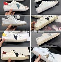 2021 zapatillas de deporte ITALIA G33ms590 Casual Shoe's Classic White White Do-Old Stuck Shoes Designer Hombres y mujeres Caja original