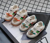 Kids Boys Girls Fashion Sneakers Baby Toddler Little Kids Leather Trainers Children School Sport Shoes Soft Casual Shoes