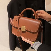 Shoulder Bags Fashion Crossbody Personality Hand-Carrying Bag Small Square