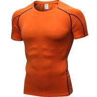 Running Shirt Men Bodybuilding Sport T-shirt Long Mouw Compression T-shirt Men Fitness Sports clothing Rashgard Top Gym