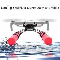 UAV Mini 2 On Water Landing Skid Float Kit Expansion For DJI Mavic Mini 2 Drone Water Landing Gear Training Gear Accessories Q0602