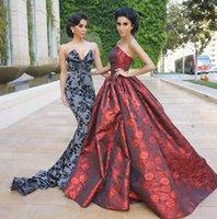 Evening dress Women dress Slap-necked fishtail skirt with V-neck and floor-length Yousef aljasmi Kim kardashian Kylie jenner Kendal